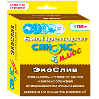 Санэкс Экослив 100 г(бактерии)