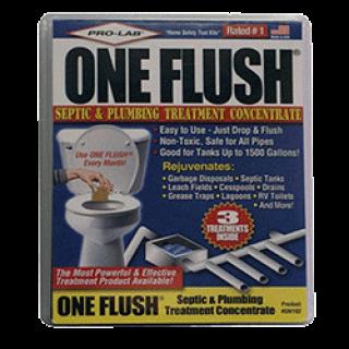 One flush