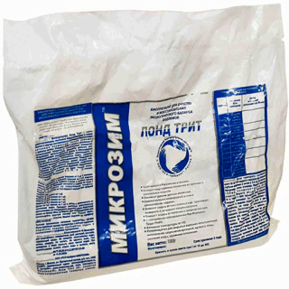 Средство для очистки водоемов Микрозим Понд Трит 250 гр.